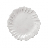 Talíř mělký bílý, 29 cm, s vlnkou