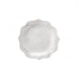 Dezertní talíř mělký bílý 23cm, dekor barokní