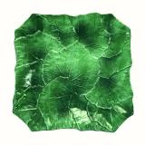 Tác vinný list 20x20cm zelený