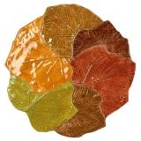 Talíř dezertní keramický, nebo tácek-rovný