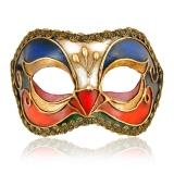Benátská karnevalová maska-Vivian škraboška Arco