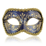 Benátská karnevalová maska-Colombina škraboška Ottavio