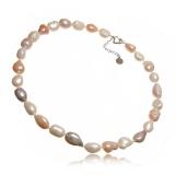 Perlový náhrdelník, perly 15-22 mm, barokní