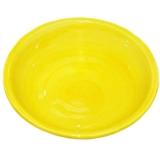 Miska malovaná žlutá, cca 18 cm