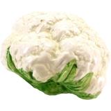 Keramická dekorace-květák 12x10 cm zelená / bílá