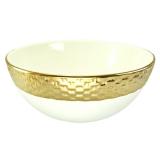 Mísa se zlatým lemem, 30 cm
