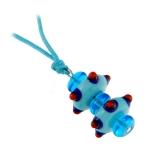 Přívěšek TAP modrý-Murano-Benátské sklo
