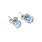 Náušnice CATERINA modré-Murano-Benátské sklo