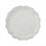 Tác bílý, dekor barokní 32 cm
