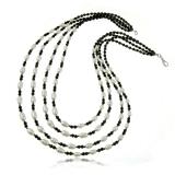 Náhrdelník s kamínky-sladkovodní perly, křišťál