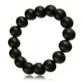 Náramek s kameny - onyx, kamínky na gumě