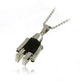 Robotek titanový přívěšek černý-CI5