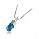 Tableta-titanový přívěšek modrý