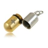 Tableta-titanový přívěšek zlatý-detail